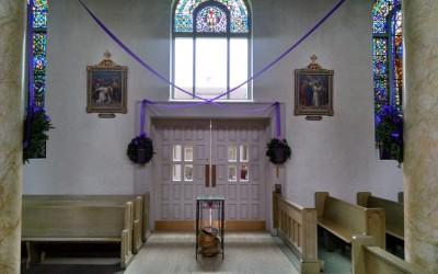 No Mass on Friday 09/14/2018