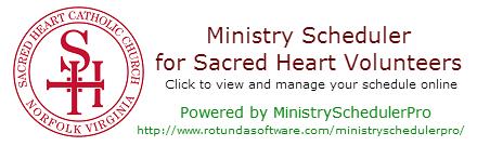 ministry scheduler