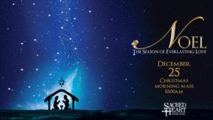 Christmas Day Mass 10am - 2019