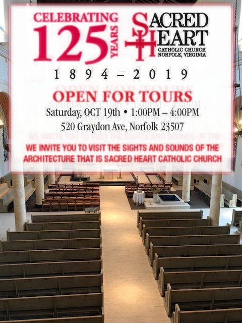 Sacred Heart 125th Church Tours